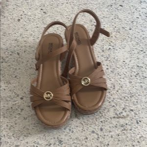 Little girls Michael kids sandals/wedges size 2/3